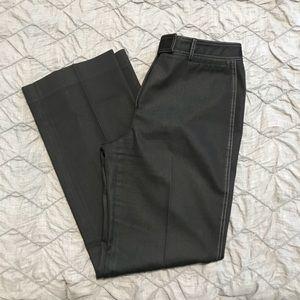 Antonio Melani Black Pleat Front Dress Pants